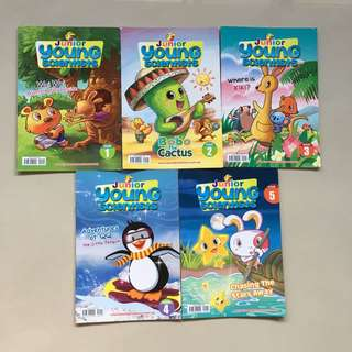Junior Young Scientist - Issues 1-5