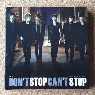 2PM - 'Don't Stop Can't Stop' Album (CD + Photobook)