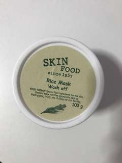 Skin Food Rice Mask
