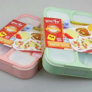 Kotak makan yooyee bento kotak bekal anti bocor