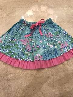 Gingersnap skirt for girl