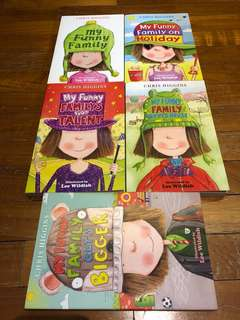 My Funny Family Series of 5 Books