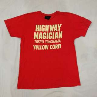 vintage Yellow Corn Motor Sport