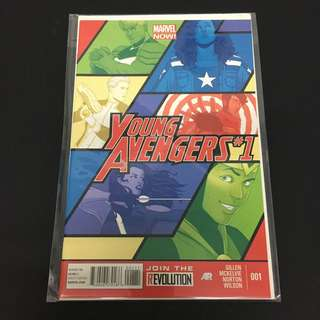 Young Avengers 1 Marvel Comics Book Stan Lee Movie