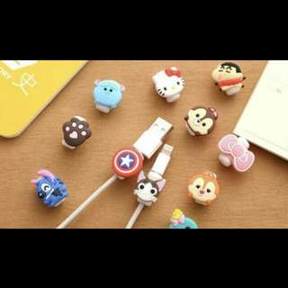 Cute cartoon lightning cable cord