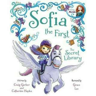 ☺ [ Brand New ]   Sofia the First the Secret Library ( Hardover) Purchase Includes Disney eBook!  By: Disney Book Group, Grace Lee (Illustrator)