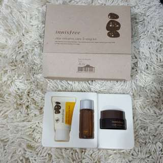 Innisfree Jeju Volcanic care 3-step kit ORI