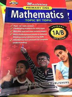 Mastering Primary One Mathematics Topic by Topic