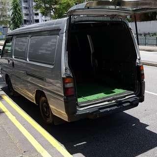 Van for rental 22 to 25 march