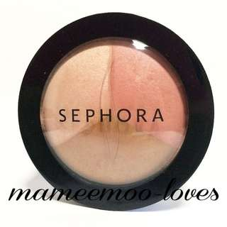 BN Sephora Microsmooth Sculpting Trio Highlighter Bronzer Sweet Blush