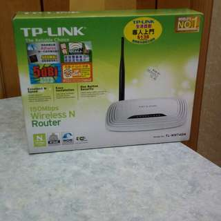 TP-LINK- wireless router 150 mbps