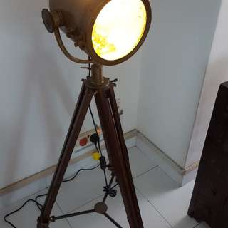 Pseudo marine/ship BRASS search light
