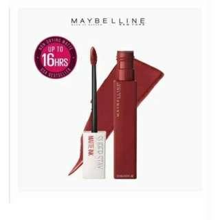 Maybelline superstaymatte ink