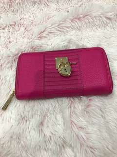 BRAND NEW Juicy Couture Hot Pink Large Wallet