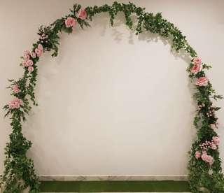 Wedding Round Arch