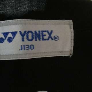Yonex sports wear 5-9 years old . 2 - with sleeves n sleeveless.  Length 40cm x width 34cm