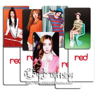 RED VELVET THE RED UNOFFICIAL PHOTOCARDS (C VER.)