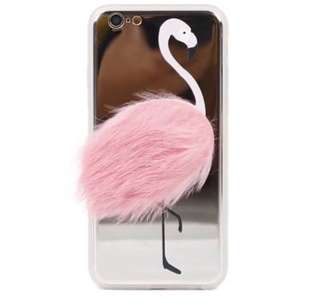 [NEW] FLAMINGO FUR CASE