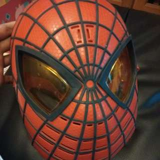 Spiderman mask with sound n light