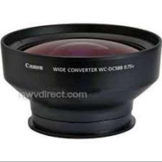Canon g12 wide angle converter