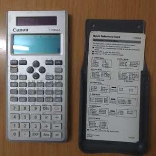 Canon Add-Math calculator