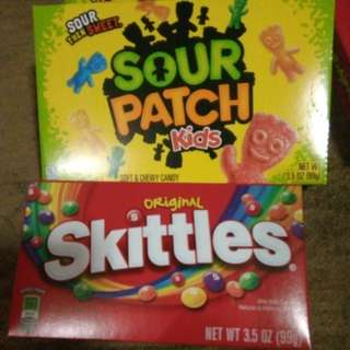 Sour patch....skittles