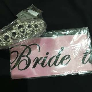 Bride To Be Set