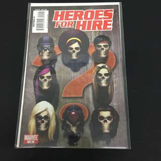 Heroes For Hire 15 Marvel Comics Book Avengers Movie