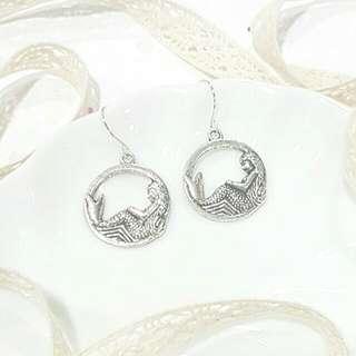 • Mermaid • Handmade Earrings •