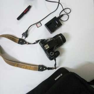 Canon 1100d+kitlens (jualan kecewa brim)