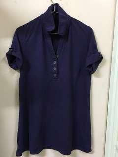 Purple Polo Tee女裝短袖上衣