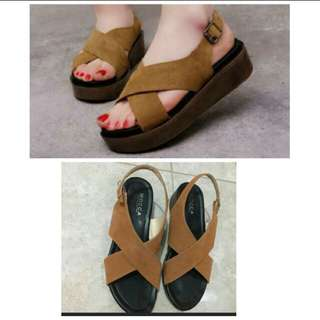 Shoes brown