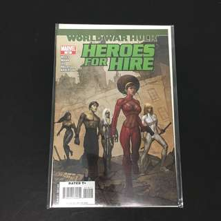 Heroes For Hire 14 Marvel Comics Book Avengers Movie