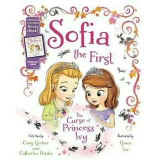 ☺ [ Brand New ]   Sofia the First the Curse of Princess IvyPurchase Includes Disney eBook!  By: Disney Book Group, Craig Gerber, Catherine Hapka, Grace Lee (Illustrator)