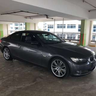 BMW 335i coupe twin turbo SG