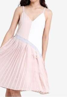 Zalora Pleated Dress