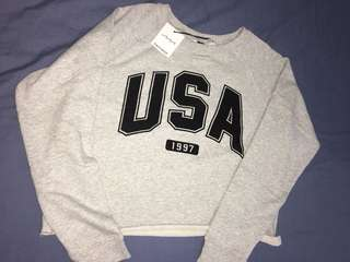 BRAND new Factorie U.S.A Hoodie (2/3 price)