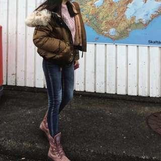palladium 防水 兩穿靴子 防水防滑鞋