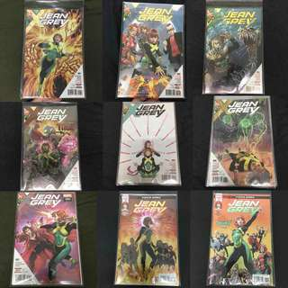 Jean Grey 1 to 11 Marvel Comics Book Stan Lee Movie Xmen