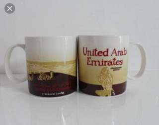 Starbucks united arab emirates mug