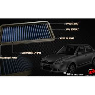AIR FILTER DROP IN PANEL JDM SAGA BLM BLUE ALZA MYVI KANCIL GEN2 WIRA WAJA SAGA SATRIA