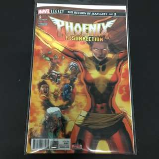 Phoenix Resurrection 1 to 5 Marvel Comics Book Stan Lee Movie Xmen