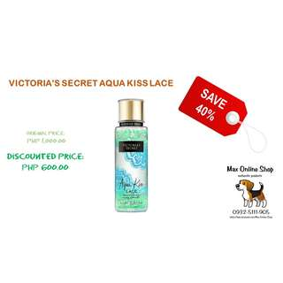 VICTORIA'S SECRET AQUA KISS LACE