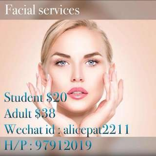 Facial n Makeup