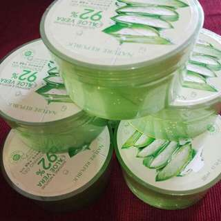 NATURE REPUBLIC ALOE VERA 92% ori% 300ml full