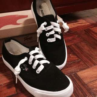 BLACK N WHITE SHOES