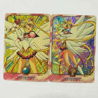 Sailormoon vintage card sticker collection No.15&16