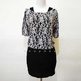 Mix Brokat Dress