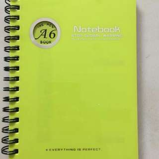 Journal Notebook - Lime Colour