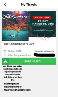 The Chainsmokers Concert Ticket